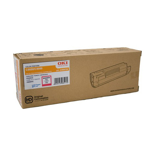 OKI TCOC5850MAGENTA Toner Cartridge to sut 5850/5950 Printers