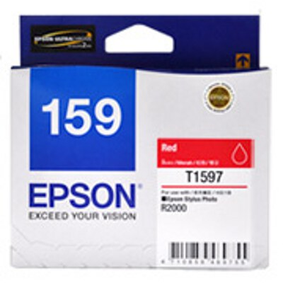 Epson C13T159790 Red ink cartridge for Stylus Photo R2000