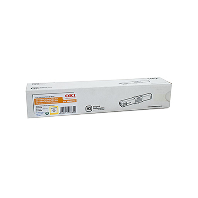 OKI Toner Cartridge For C310dn/330dn  Yellow; 2000 Pages @ 5% Coverage