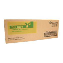 Kyocera TK-884Y Yellow Toner Cartridge (18,000 Yield)