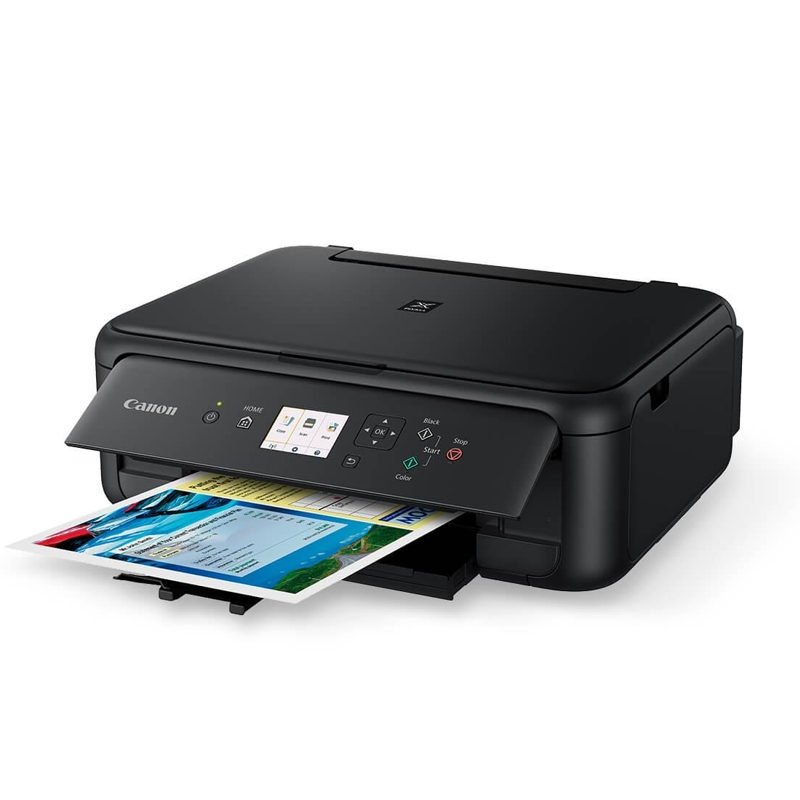 Canon TS5160BK Multifunction Inkjet Printer with Wireless and Bluetooth