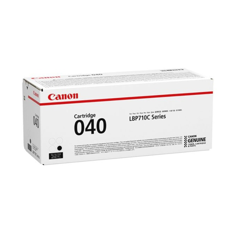 Canon CART040BK, Black Toner Cartridge to suit LBP712CX (Yield, up to 6,300 pages)