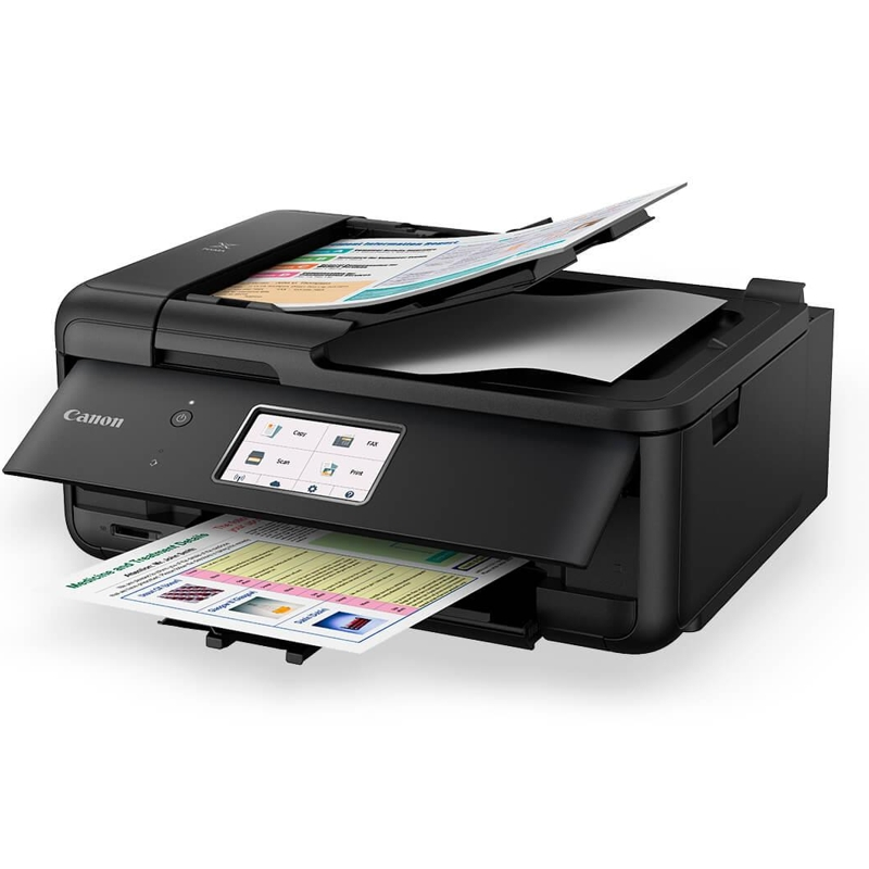 Canon TR8560 Multfuntion Inkjet Printer - Black