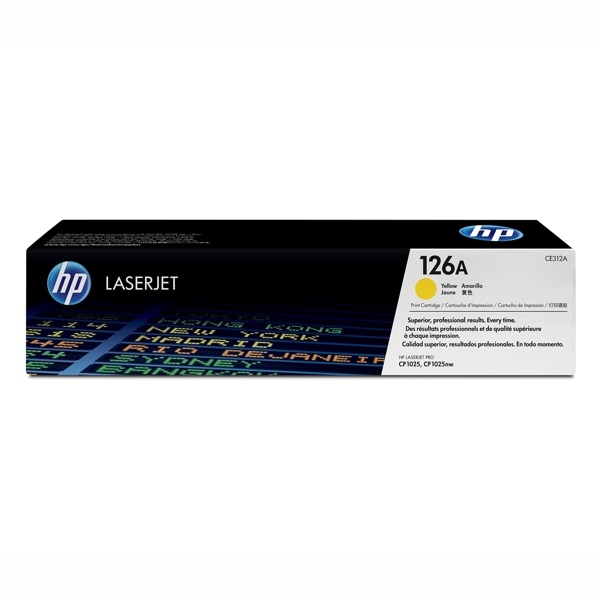 HP CE312A #126A Yellow Toner