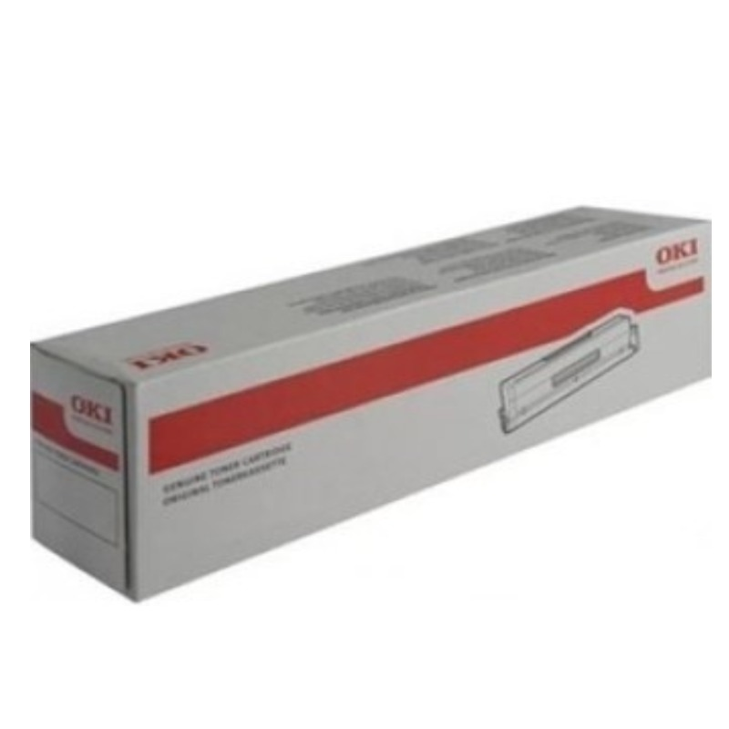 OKI 46507612 Black Toner Cartridge For C712n; 11,000 Pages @ (ISO)