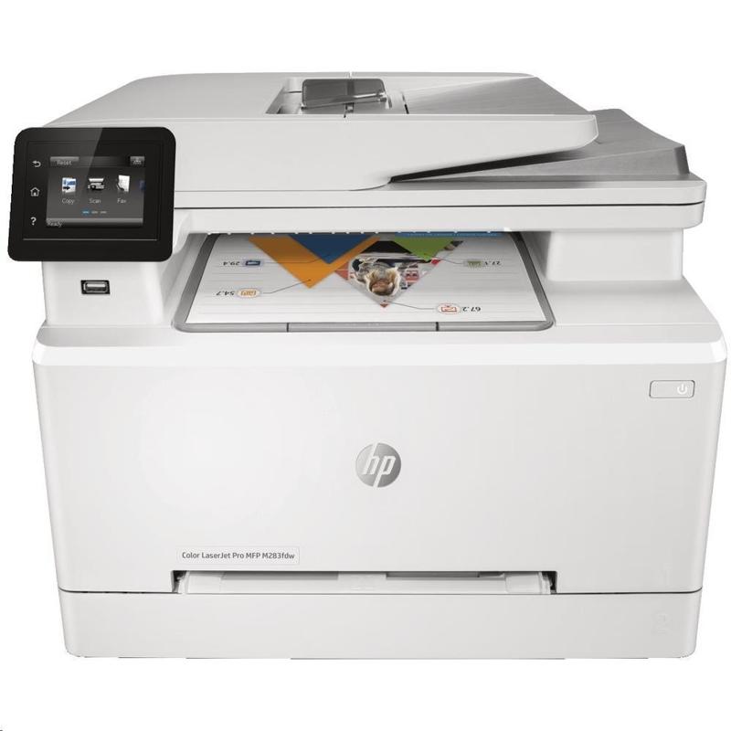 HP 7KW75A Colour LaserJet Pro M283FDW MFP, A4, 21ppm, Duplex, WiFi, Fax