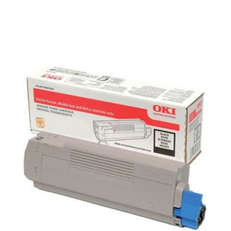 OKI 46861312 Toner Cartridge For C834 Black; 10,000 Pages  (ISO)