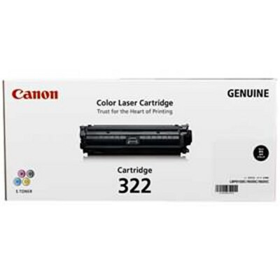 Canon CART322BK Black Cartridge for LBP9100CDN (6,500 Page Yield)
