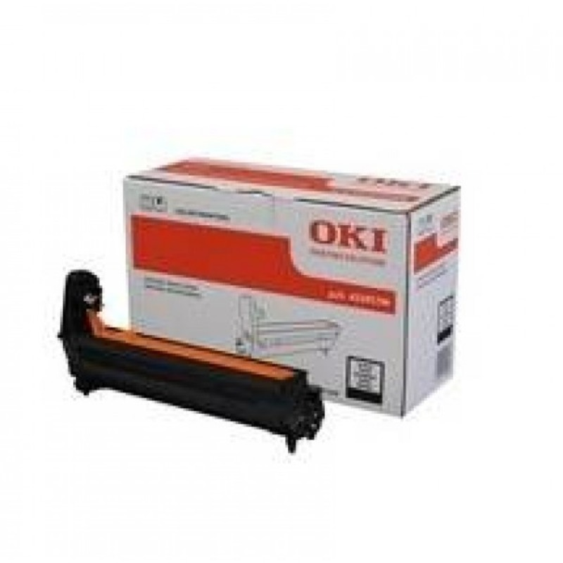 OKI 45395708 Black Drum Unit to suit MC770DNFAX / MC770DFNFAX, 30,000 Pages