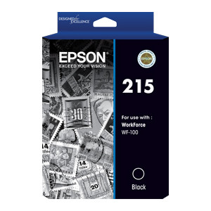 Epson C13T215192 Black Ink Cartridge to suit WF100 (Yield, up to 250 pages)