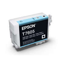 Epson C13T760500 UltraChrome HD, Light Cyan Ink Cartridge