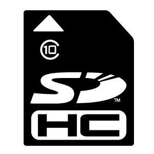 SDHC 8GB Card, Class 10