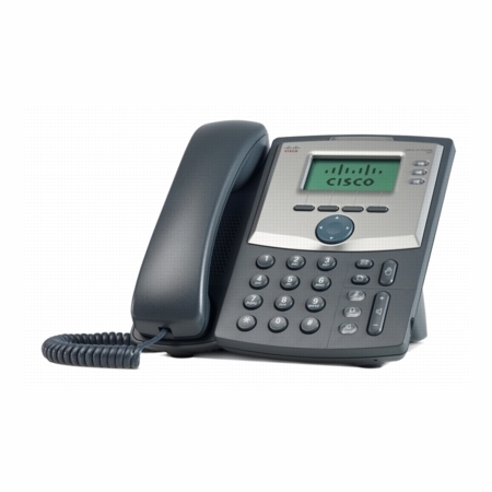 Cisco SPA303 3-Line IP Phone with Power Adapter