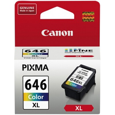 Canon CL646XL High Yield Colour Ink Tank to suit MG2560 (Yield, up to 400 pages)