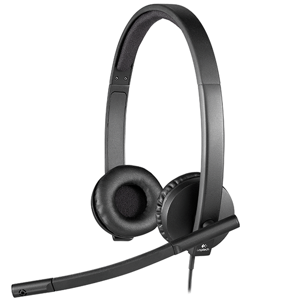 Logitech 981-000574 H570E USB Stereo Headset