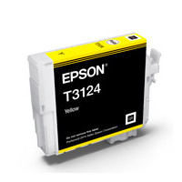 Epson C13T312400 UltraChrome Hi-Gloss2, Yellow Ink Cartridge