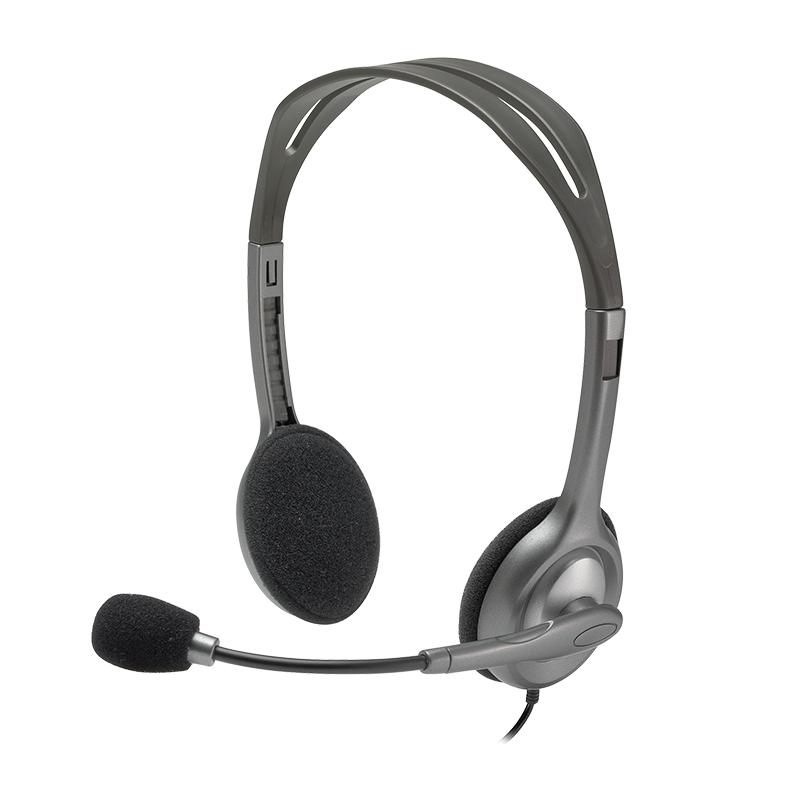 Logitech 981-000459 H110 Stereo Headset