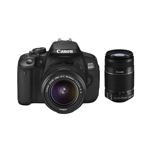 Canon 650DTKIS EOS 650D Twin IS Kit