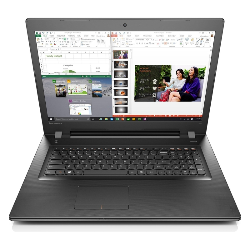 Lenovo Core i7-6500U 2.5Ghz, 8GB, 2TB, 17.3 Inch HD, DVDRW, Win 10 Home 64