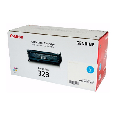 Canon CART323C Cyan Cartridge to suit LBP7750CDN