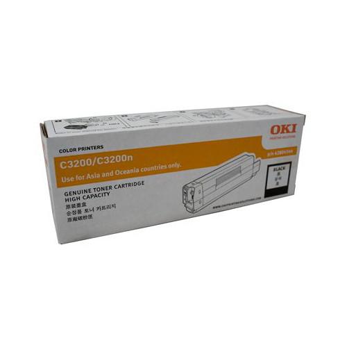 OKI Black Toner Cartridge to suit C3200 (3000 Yield)