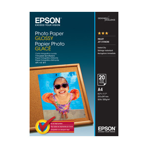 Epson C13S042538 Photo Paper Glossy, A4, 20 Sheet