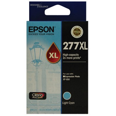 Epson C13T278592 High Capacity Claria Photo HD Light Cyan ink (Yields up to 740 pages)