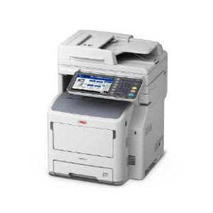 OKI MB770DFNFAX 52ppm A4 Mono Multifunction with Duplex, Network and Fax