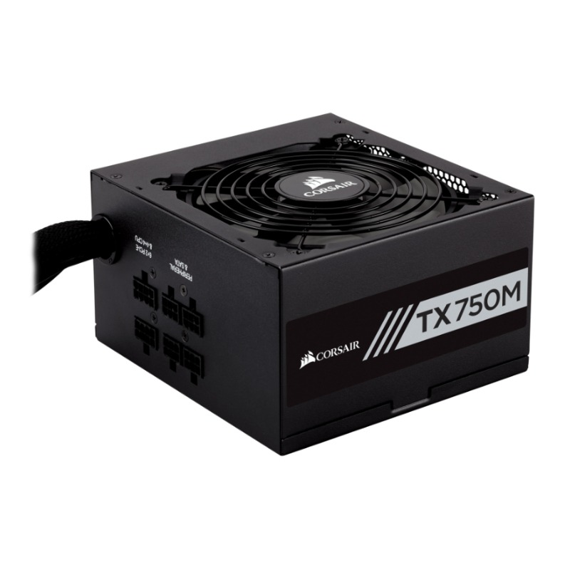Corsair CP-9020131-AU TX750M 750W 80 Plus Gold Power Supply
