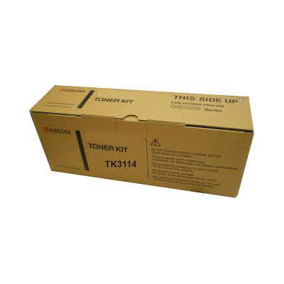 Kyocera TK-3114 Black Toner Kit (15,500 pages @ 5% coverage)