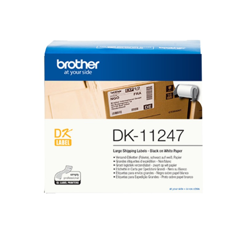 Brother Large Shipping Label 103mm x 164mm (180 Labels per Roll)