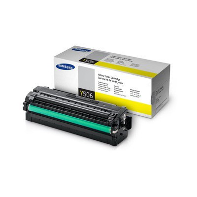 Samsung CLT-Y506L Yellow Toner for  CLP-680, CLX-6260 (Average 3,500 page yield)