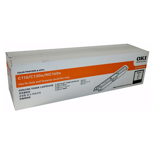 OKI Toner Cartridge for C110/130n Black