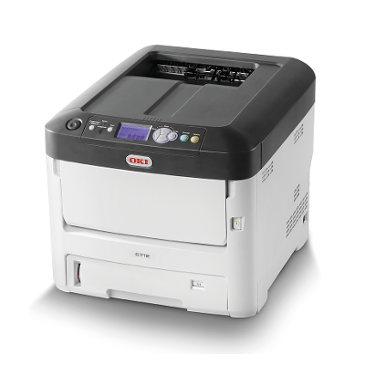 OKI C712N Colour LED Printer with Network