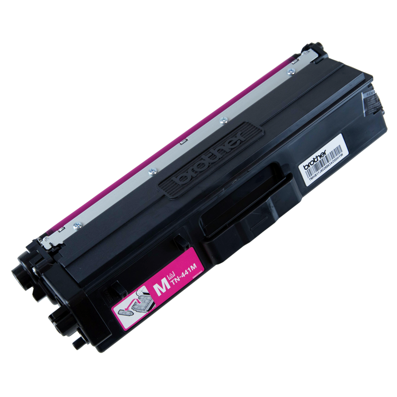 Brother TN-441M Standard Yield Magenta Toner, 1800 Pages