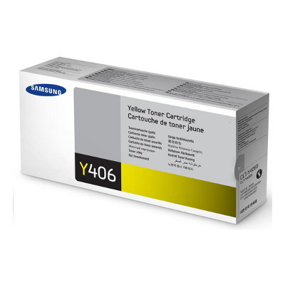 Samsung CLT-Y406S Yellow Toner for CLP-360/365, CLX-3300/3305