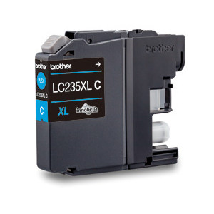 Brother LC-235XLC Cyan Ink Cartridge (Yield, up to 1,200 pages)