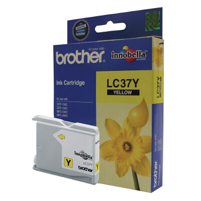 Brother Yellow Ink Cartridge for DCP-135C, DCP150C, MFC260C