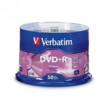 Verbatim DataLife DVD+R, 4.7GB Disc, 50 Pack, Spindle, 16x