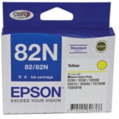 Epson C13T112492 Yellow Ink Cartridge (replaces C13T082490)
