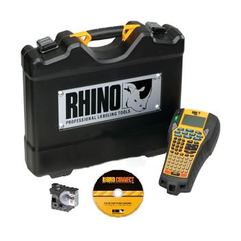 DYMO SD771980 RHINO 6000 Industrial Labeller Hard Case Kit