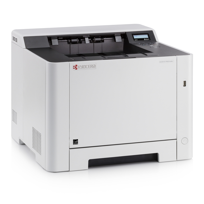 Kyocera P5021CDW 21ppm Colour Laser Printer with Ethernet and Wireless