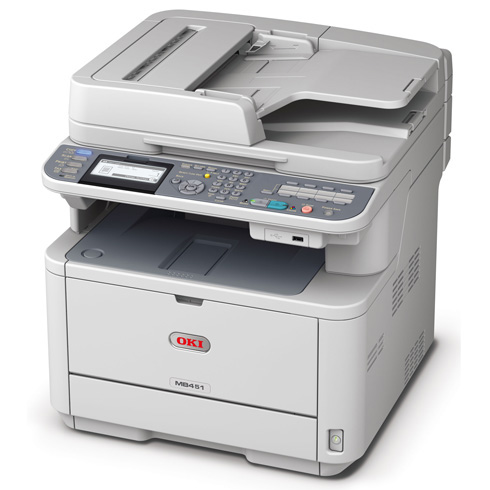 OKI MB451DNW Wireless Multifunction LED - Print, Scan, Copy and Fax