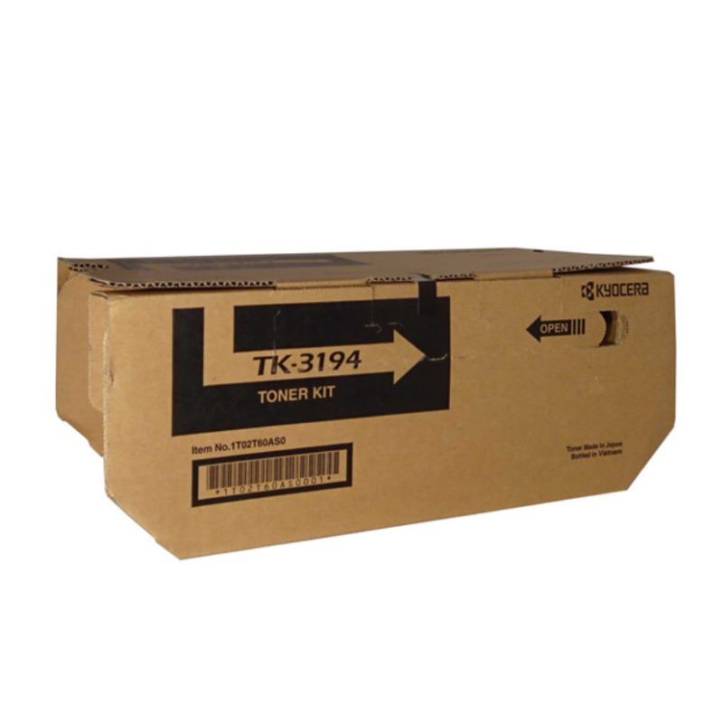 Kyocera TK-3194 Toner Cartridge (25,000 Yield)