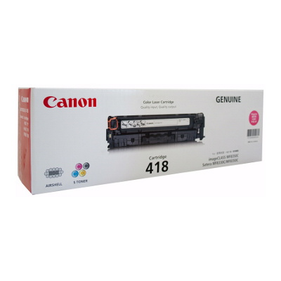 Canon CART418M Magenta Toner Cartridge (2,900 pages)