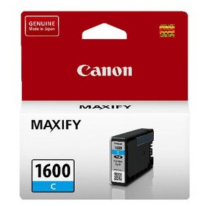 Canon PGI1600C Cyan Ink Tank (Yield, up to 300 pages)