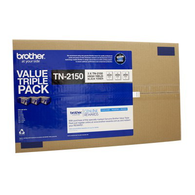 Brother TN-21503PK Toner Cartridge Triple-Pack