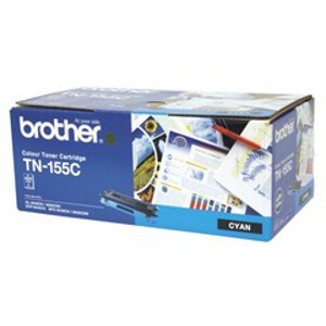 Brother TN-155C Cyan Toner Cartridge (4000 Yield)