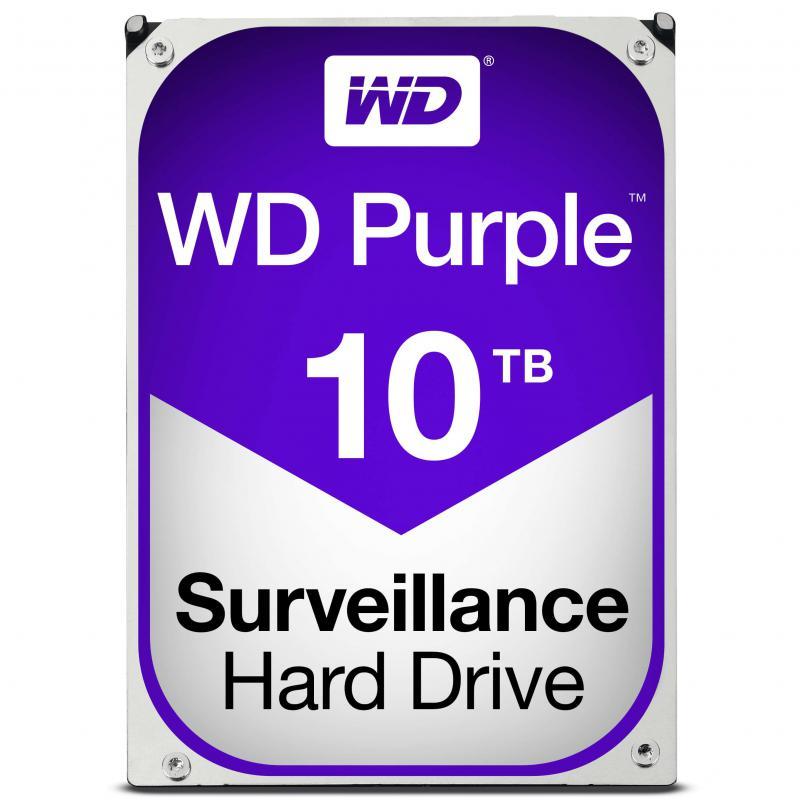 Western Digital WD100EPURZ  Purple Internal 3.5 Inch Desktop SATA Drive, 10TB, 6Gb/s, Intellipower, 3yr