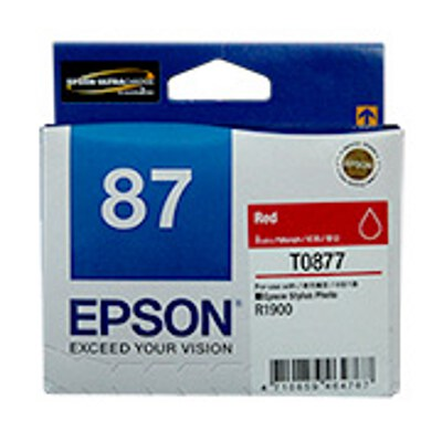 Epson C13T087790 Red Ink Cartridge